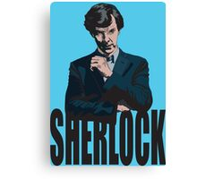 Sherlock ( Tv Series ) Canvas Print