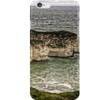Chalk Cliffs at Flamborough Head iPhone Case/Skin