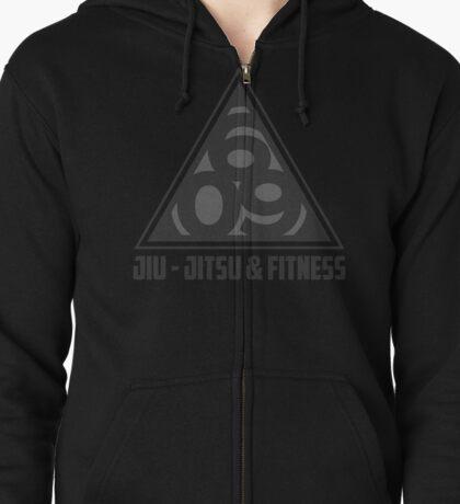 609 Jiu Jitsu & Fitness Black Belt Edition Zipped Hoodie