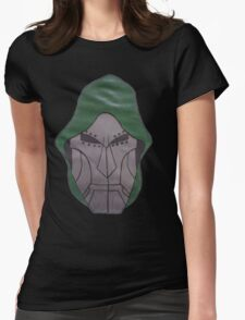 dr doom Womens Fitted T-Shirt