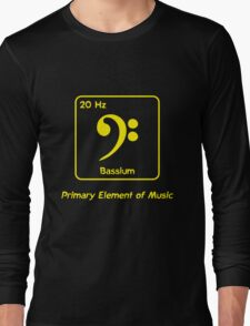 Bassium -- Primary Element of Music T-Shirt