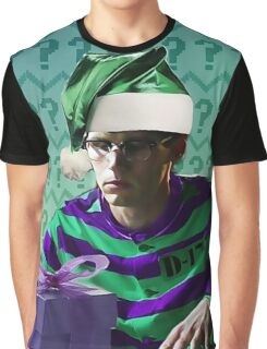 Ed Nygma- Holiday Theme Graphic T-Shirt