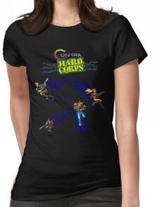 Contra Hard Corps (Genesis Character Lineup) Womens Fitted T-Shirt