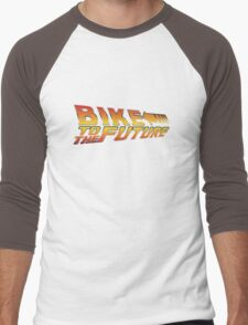 Bike To The Future Men's Baseball ¾ T-Shirt