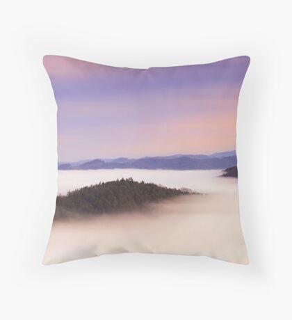 Natural mystic Throw Pillow