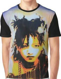 Willow Smith Stencil Graphic T-Shirt