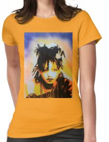 Willow Smith Stencil Womens Fitted T-Shirt