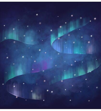 Aurora borealis Sticker