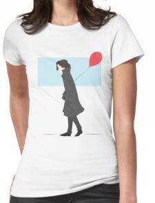 Come Along, John Womens Fitted T-Shirt