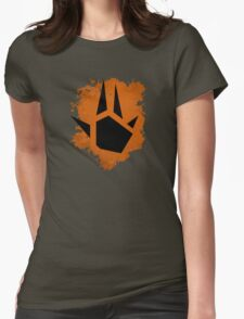 Prime Charge Beam (Splatter Black) Womens Fitted T-Shirt