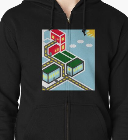 The City Zipped Hoodie