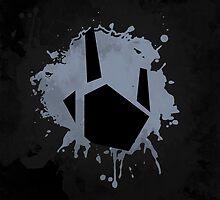 Prime Freeze Beam (Splatter Black) by Greytel