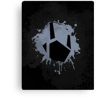 Prime Freeze Beam (Splatter Black) Canvas Print