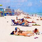 Shores of South Beach by Phil Perkins