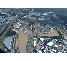 Le Mans Aerial Photographic Print