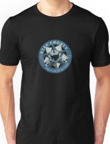 Stay Frosty Grunge Crest Unisex T-Shirt