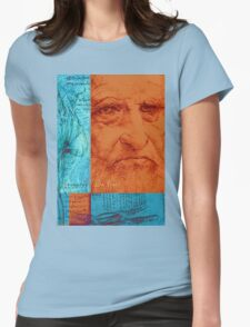 Leonardo Da Vinci Womens Fitted T-Shirt