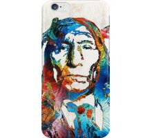 Native American Art - Warrior - By Sharon Cummings iPhone Case/Skin