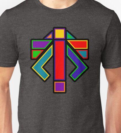 XCOM - ADVENT LOGO (Rainbow) Unisex T-Shirt