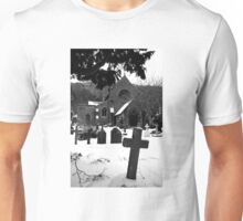 Church & Gravestones Unisex T-Shirt