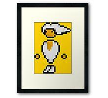 Pixel Art: PC Master Race Guy Framed Print