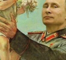 Baby Trump and a Comrade Putin Sticker
