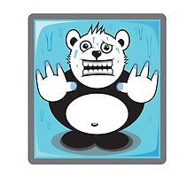 """Mime the Bear """"Locked up"""" by rock4design"""