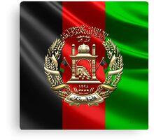Afghanistan National Emblem  Canvas Print