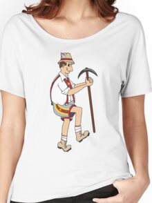 The Price is Right - Cliff Hanger Yodely Guy Women's Relaxed Fit T-Shirt