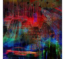 Live in an abstract city Photographic Print