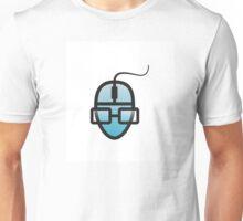 Human face as PC mouse Unisex T-Shirt