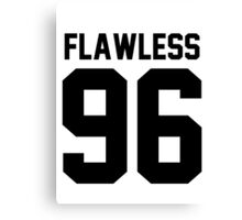 Flawless '96 - Jersey Tee  Canvas Print