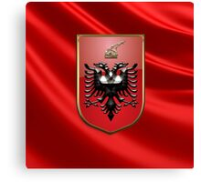 Albania - Coat of Arms  Canvas Print