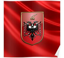 Albania - Coat of Arms  Poster