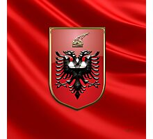 Albania - Coat of Arms  Photographic Print