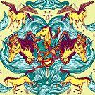 Unicorns Warriors Unicorns by Nicolae Negura