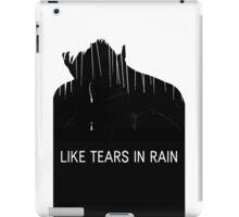 BLADE RUNNER - ROY BATTY - LIKE TEARS IN RAIN iPad Case/Skin
