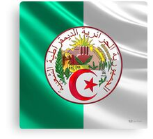 Algeria - Coat of Arms  Canvas Print