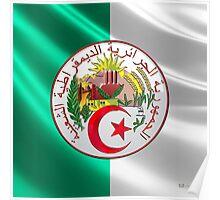 Algeria - Coat of Arms  Poster