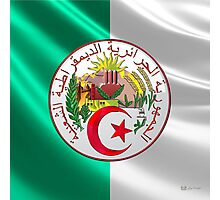 Algeria - Coat of Arms  Photographic Print