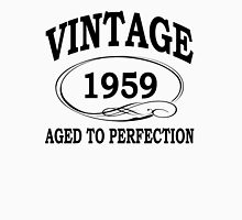 Vintage 1959 Aged To Perfection Womens Fitted T-Shirt