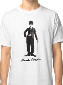 Charlie Chaplin - Autograph Classic T-Shirt