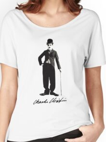 Charlie Chaplin - Autograph Women's Relaxed Fit T-Shirt