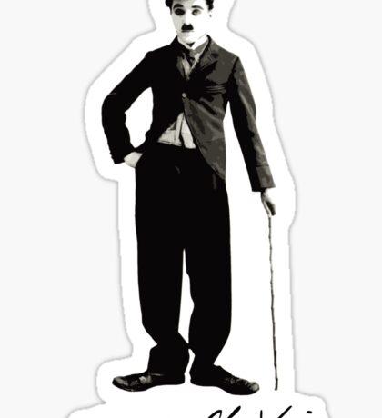 Charlie Chaplin - Autograph Sticker