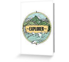 EXPLORER Greeting Card