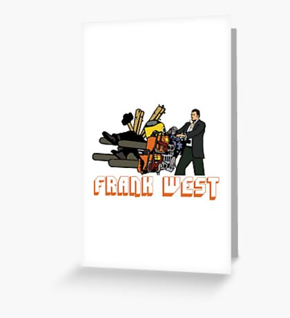 BAD MOFO FRANK Greeting Card