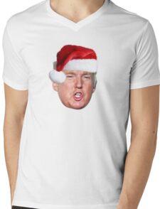 Trump Santa Shirt Mens V-Neck T-Shirt
