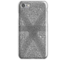 Abstract boring grey pattern iPhone Case/Skin