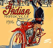 Indian Motocycles Poster by OldDawg
