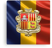 Andorra - Coat of Arms  Canvas Print